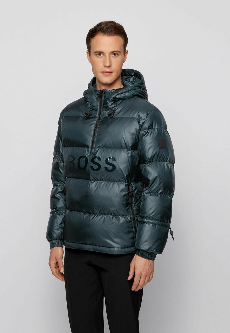 BOSS - Down jacket - open green