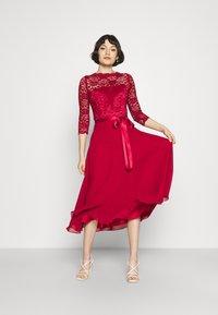 Swing - Cocktail dress / Party dress - burgundy - 1