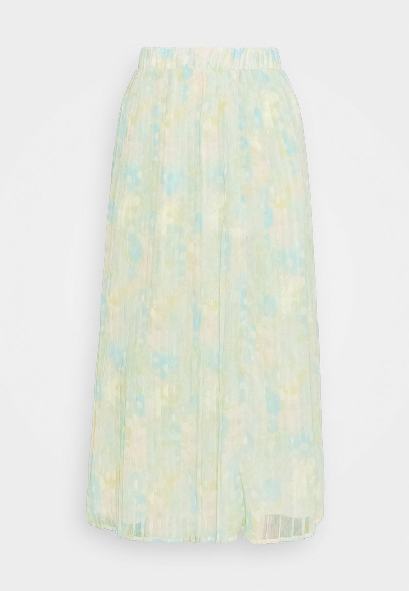 Selected Femme Tall - SLFGEORGIA MAXI PLISSE SKIRT - Pliceret nederdel /Nederdele med folder - young wheat