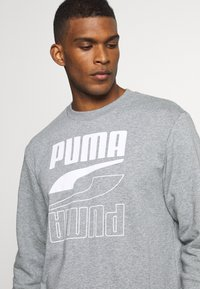 Puma - REBEL CREW  - Sweatshirt - medium gray heather - 4