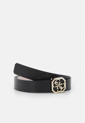 DILLA NOT PANT BELT - Pasek - black/blush