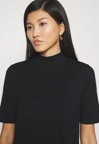 GAP - MOCK NECK DRESS - Jumper dress - true black - 4