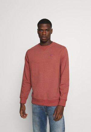 NEW ORIGINAL CREW - Sweatshirt - marsala