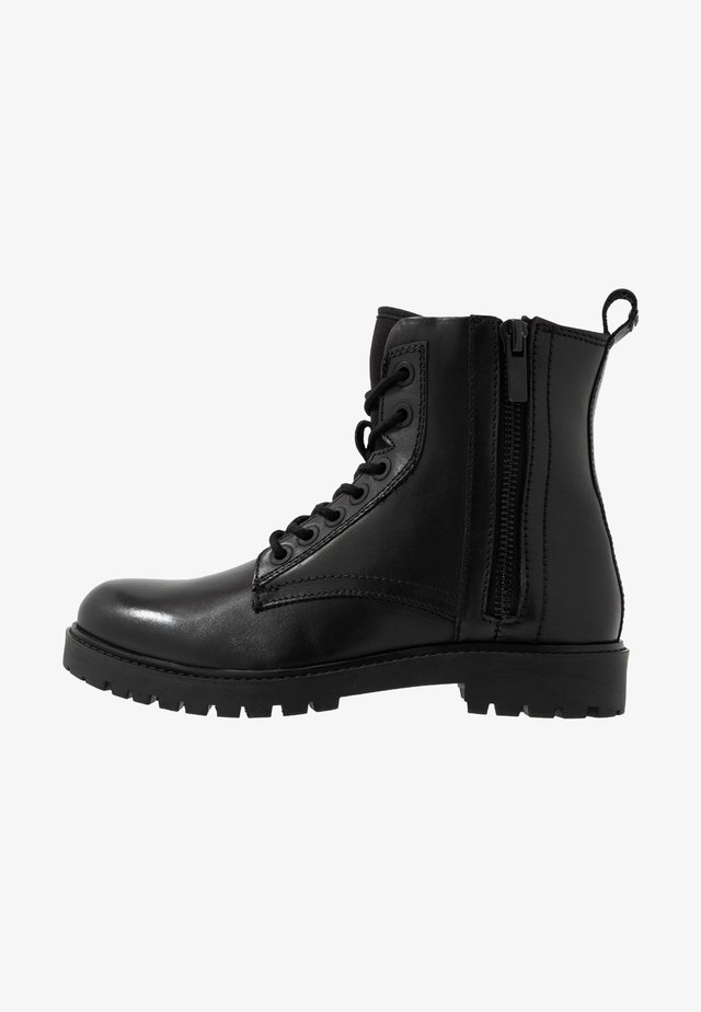 ARMY LACE UP - Lace-up ankle boots - nero