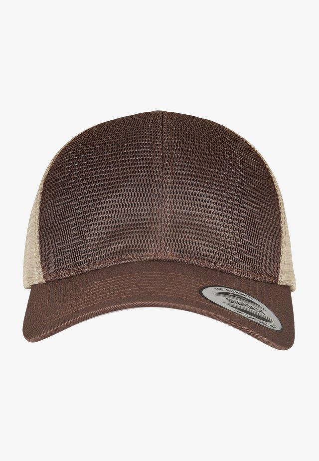 OMNIMESH TONE - Kšiltovka - brown khaki