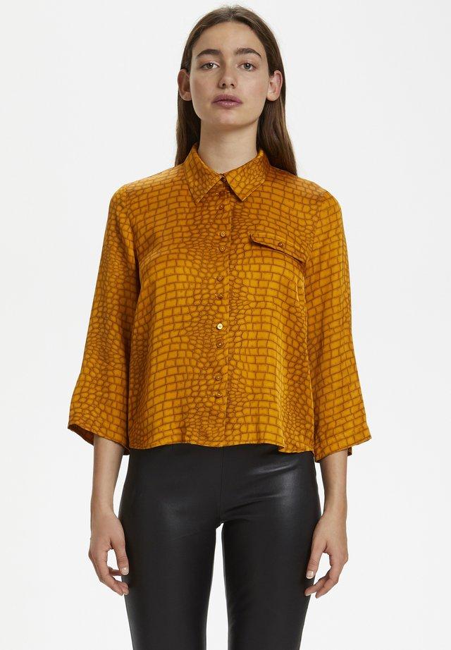 TABBYGZ - Button-down blouse - golden oak