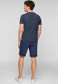 s.Oliver - T-Shirt basic - blue melange - 1