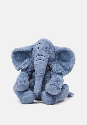 RUMPLETUM ELEPHANT UNISEX - Cuddly toy - blue