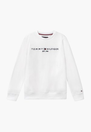 ESSENTIAL UNISEX - Sweatshirt - white