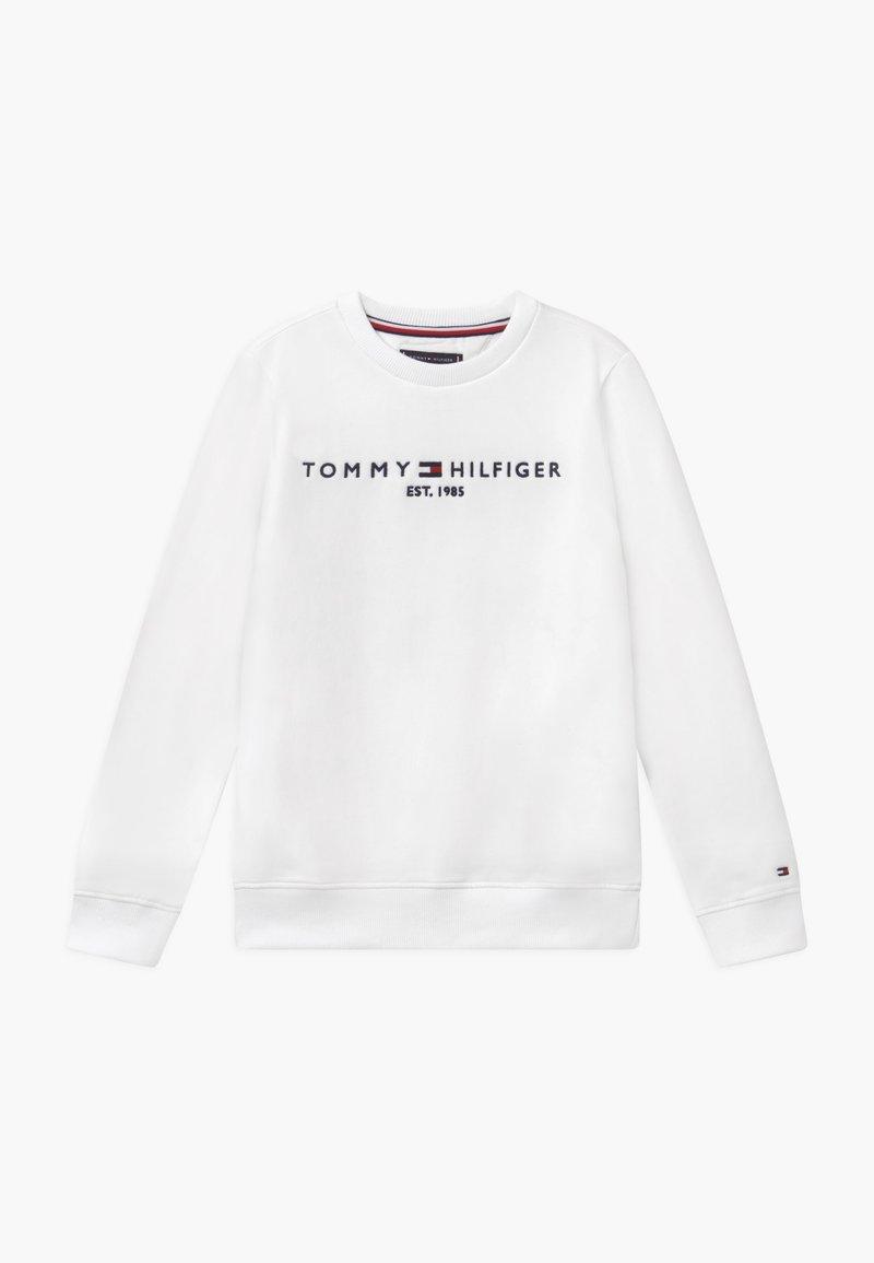 Tommy Hilfiger - ESSENTIAL UNISEX - Sweatshirt - white