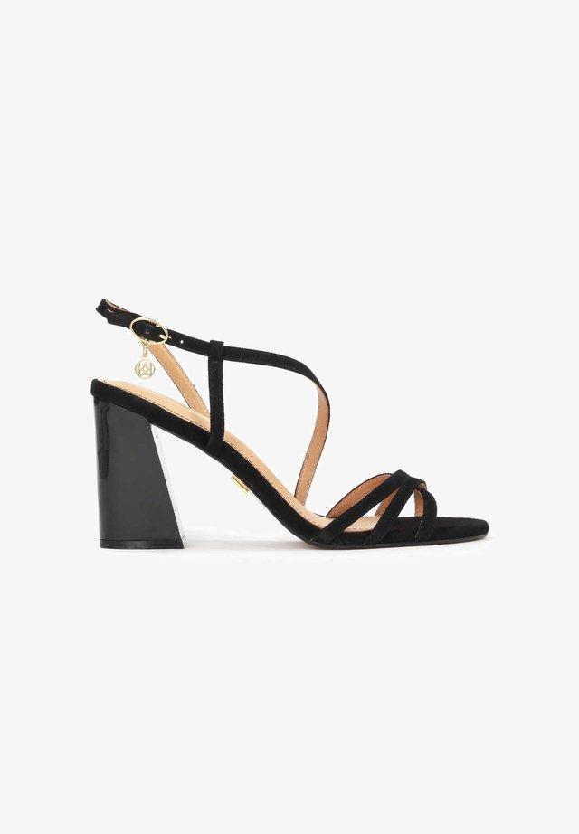 SUZETTE  - Sandalen met hoge hak - black