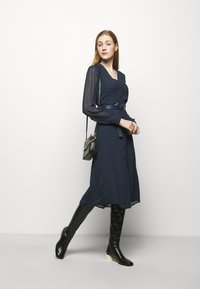 MICHAEL Michael Kors - PERFECTION BELTED - Day dress - dark blue - 1