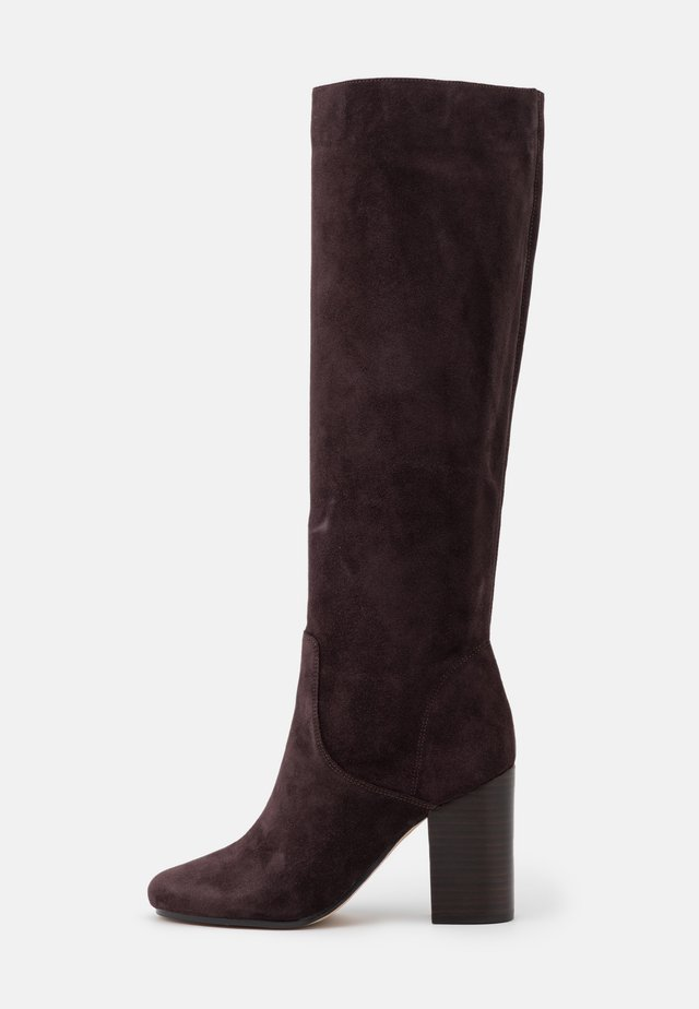 LEIGH BOOT - Botas - chocolate