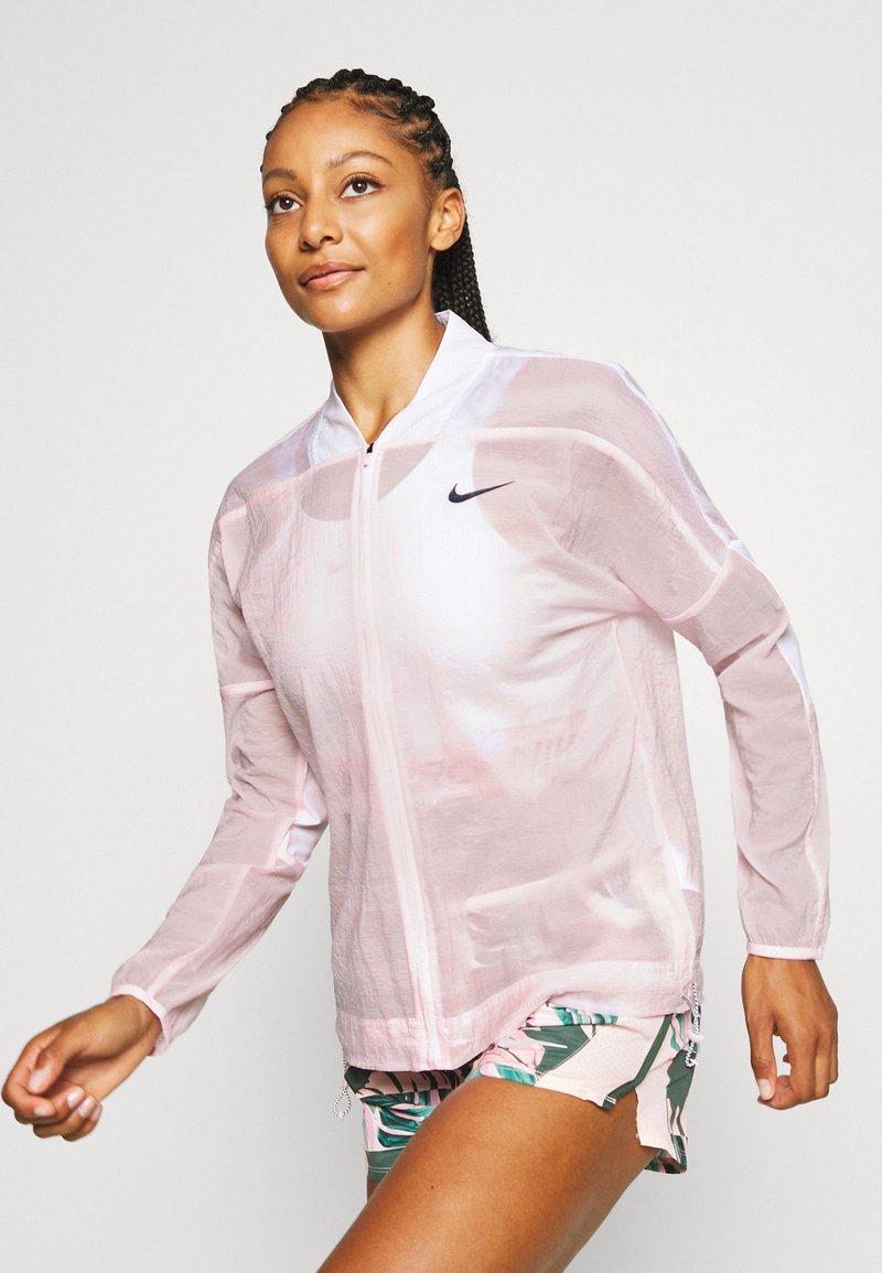 Nike Performance - JACKET - Løbejakker - pink foam/white/black