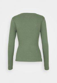Even&Odd - Topper langermet - green - 1