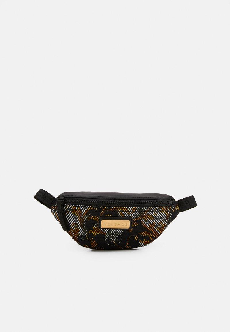Versace - MARSUPIO TARGHETTA ST BAROCCO UNISEX - Bum bag - nero/oro/bianco