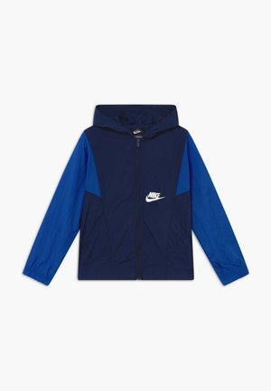 JACKET - Light jacket - midnight navy/game royal/white