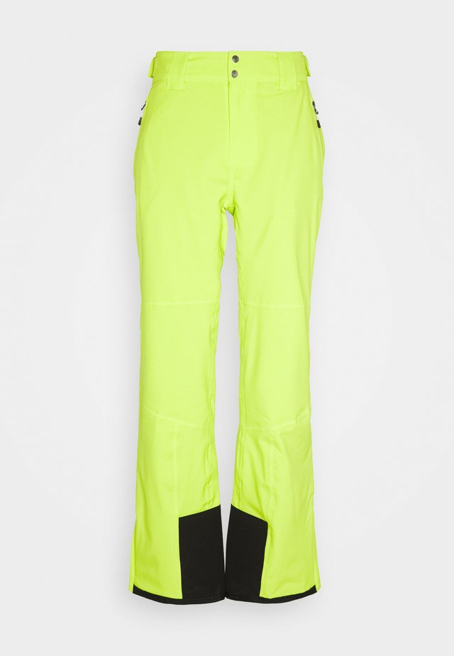 ACHIEVE PANT - Spodnie narciarskie - lime punch