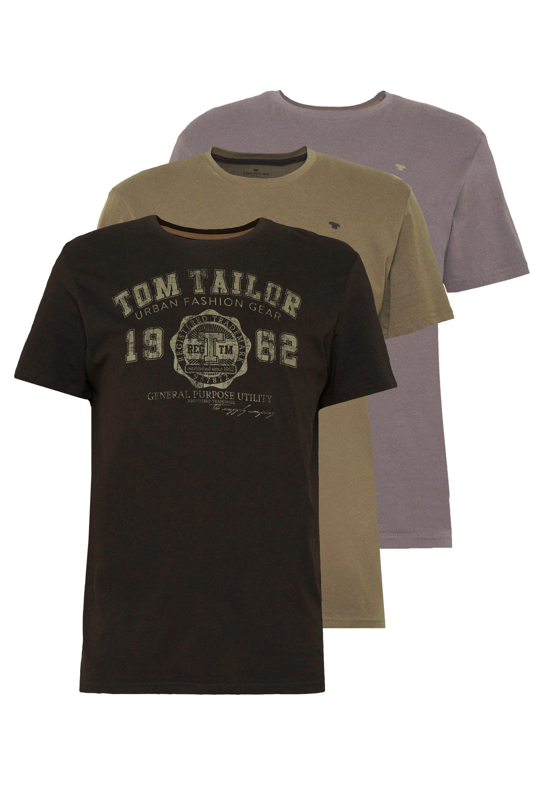 Men BASIC T-SHIRT 3 PACK - Print T-shirt