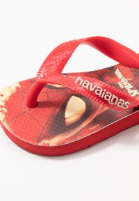 Havaianas - TOP MARVEL SPIDER MAN - Teenslippers - ruby red - 6