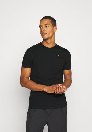 NATARIO - Basic T-shirt - black