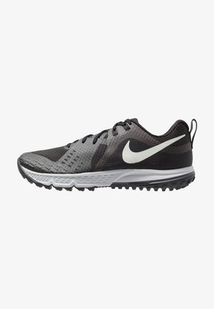 AIR ZOOM WILDHORSE 5 - Trail running shoes - black/barely grey/thunder grey/wolf grey