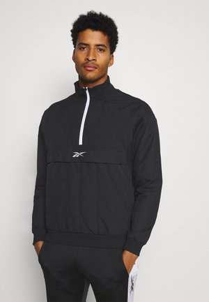 QUILTED ZIP - Training jacket - black
