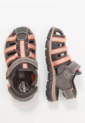Walking sandals - grigio/antracite