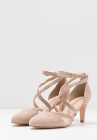 Anna Field - LEATHER - Klassiske pumps - nude - 4