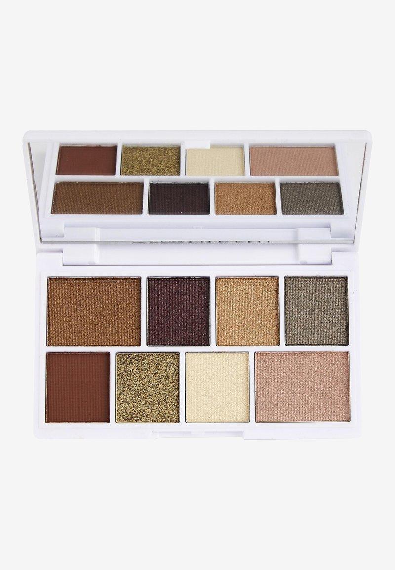 I Heart Revolution - I HEART REVOLUTION WHITE GOLD MINI CHOCOLATE EYESHADOW PALETTE - Eyeshadow palette - multi