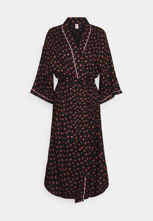 CRUSH LIBERTE KIMONO - Dressing gown - black