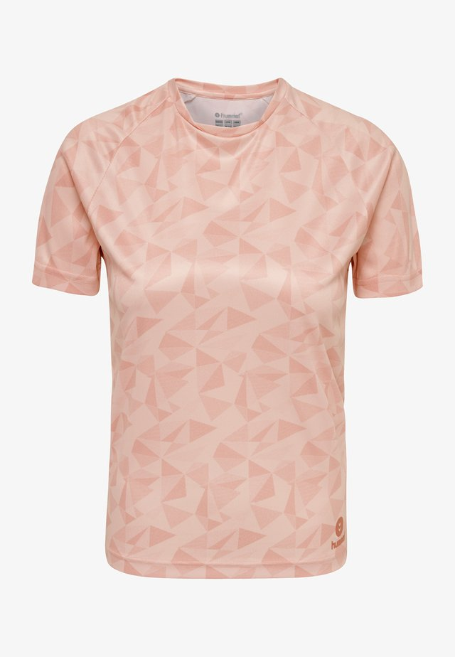 HMLACTIVE  - T-shirt print - mellow rose