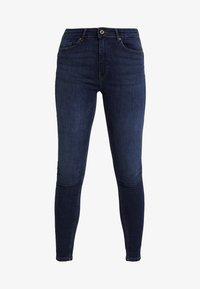ONLPAOLA PUSH UP - Jeans Skinny Fit - dark blue denim