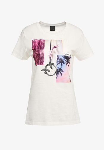 SCONES - Print T-shirt - bianco