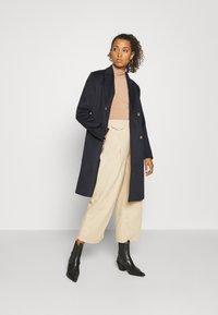 YAS - YASWOOLA - Long sleeved top - tawny brown - 1