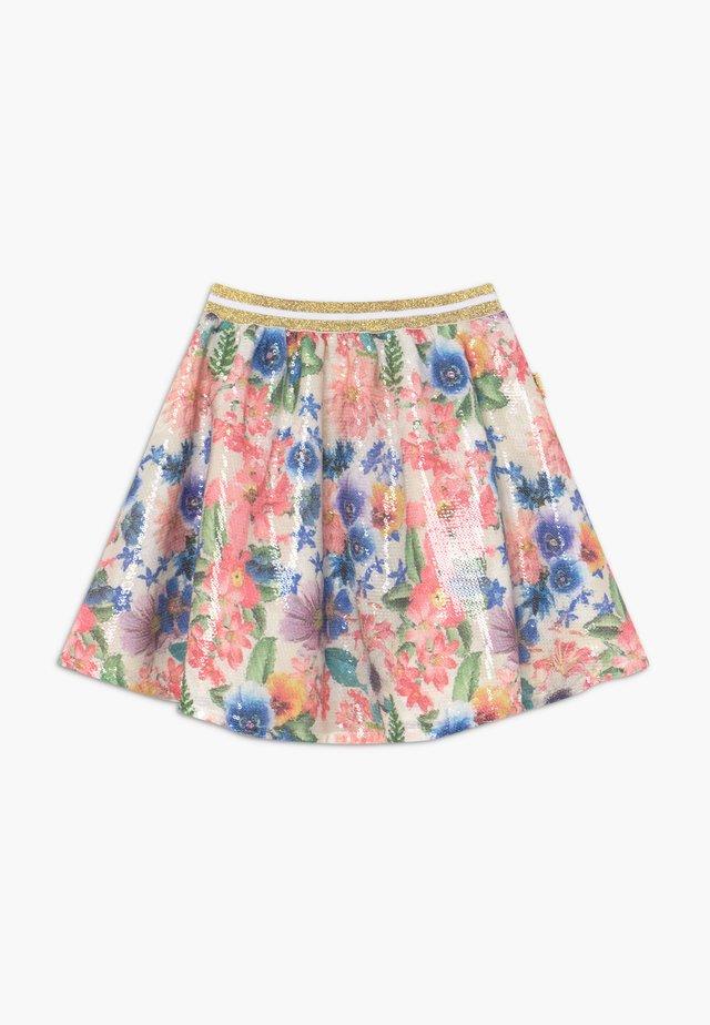 Spódnica trapezowa - spring white