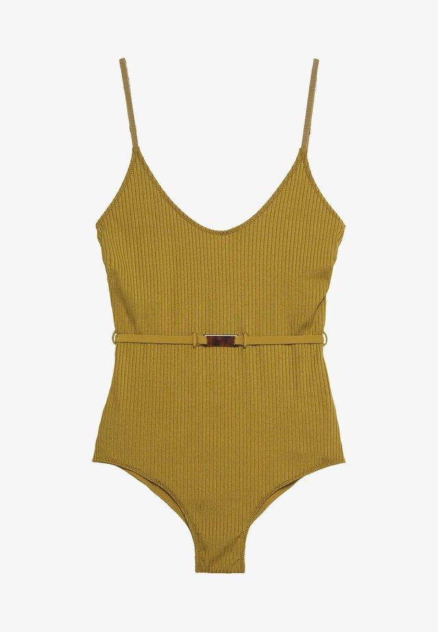 CRUZ - Kostium kąpielowy - sage