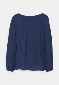 comma - Long sleeved top - dark blue - 1