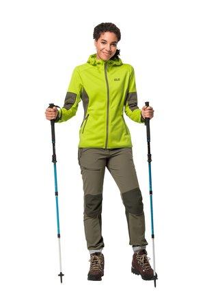 HYDRO - Soft shell jacket - bright lime