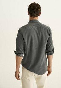 Massimo Dutti - Shirt - metallic grey - 1