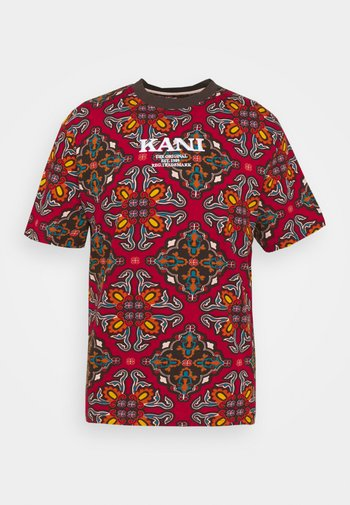 UNISEX RETRO ORNAMENTAL TEE  - Print T-shirt - multicolor
