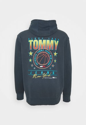 PLUS BASKETBALL HOODIE - Sweatshirt - twilight navy