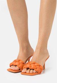 RAID - SANDRA - Heeled mules - orange - 0
