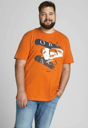 JORCALIBRUSH TEE CREW NECK - T-shirt con stampa - hawaiian sunset