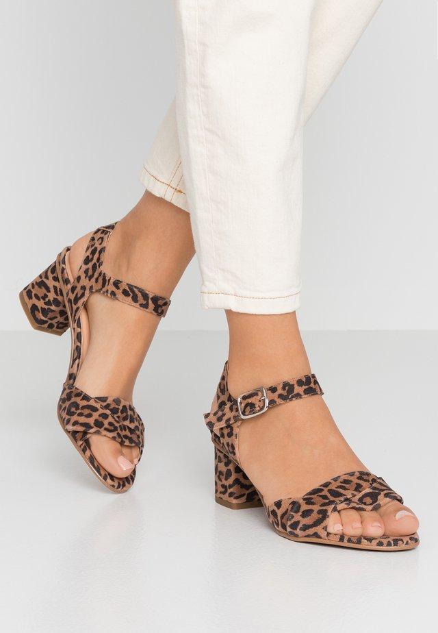 TILLY - Sandals - brown