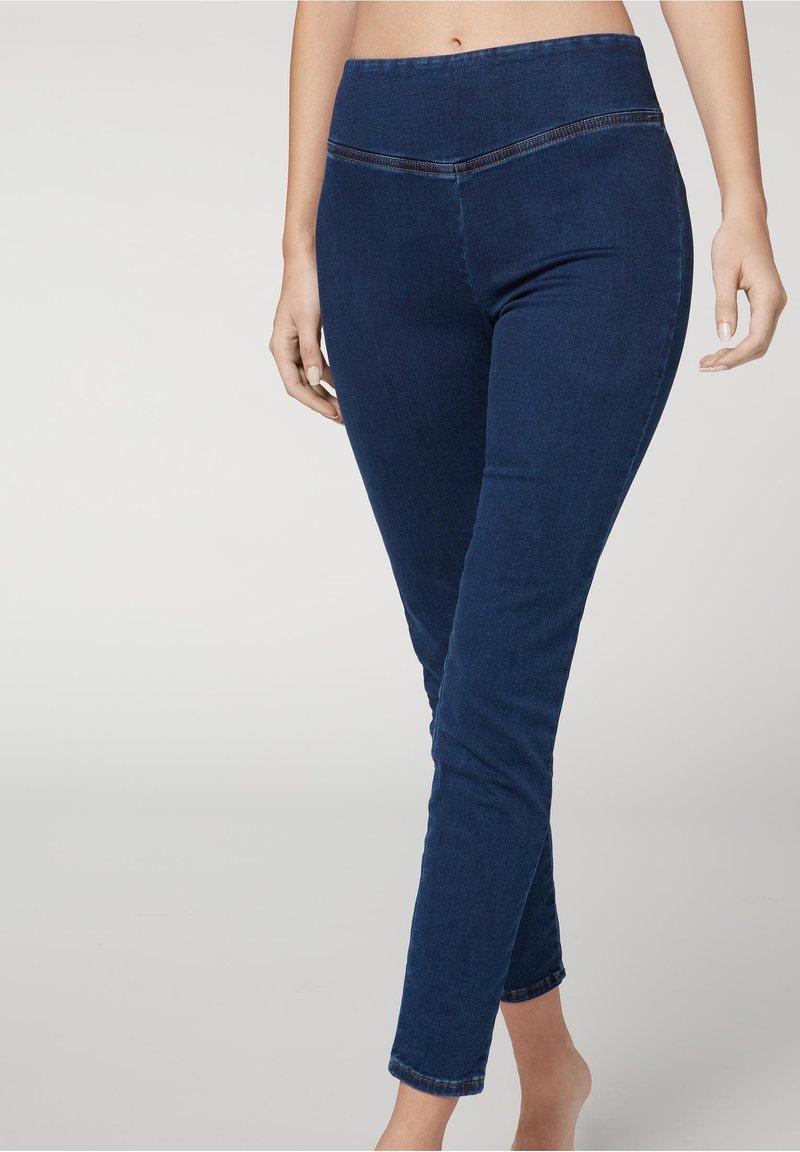 Calzedonia - Leggings - Trousers - blu jeans