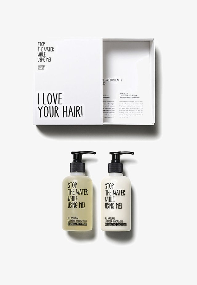 HAIR KIT SHAMPOO & CONDITIONER 200ML - Zestaw do włosów - neutral