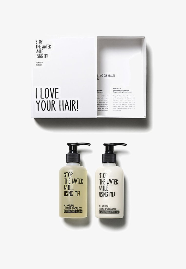 STOP THE WATER WHILE USING ME! - HAIR KIT SHAMPOO & CONDITIONER 200ML - Hårsæt - neutral