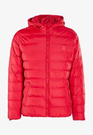 Winter jacket - fire red