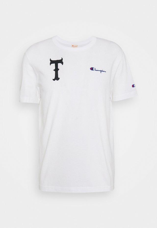 CREWNECK TOKYO - T-shirt imprimé - white